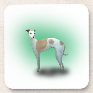 Spotted Greyhound Dog Coasters