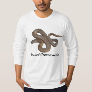 Spotted Ground Snake American Apparel Long Sleeve T-Shirt