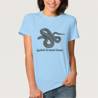 Spotted Ground Snake Ladies Baby Doll T-Shirt