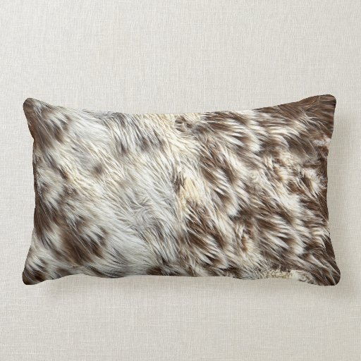 Real Animal Skin Pillows : Faux Spotted Horse / Cow Hide / Animal Fur Image Throw Pillows Zazzle
