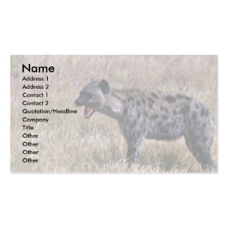 Spotted Hyaena Business Card Templates