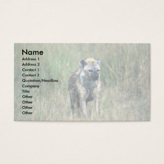 Spotted Hyaena Business Card