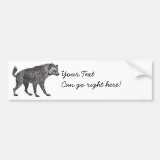 Spotted Hyena Bumper Sticker