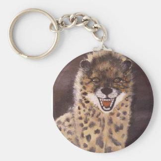 """Spotted Hyena"" Keychain"
