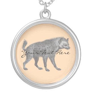 Spotted Hyena Necklace