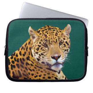 Spotted Jaguar Big Cat-lover #Gift Laptop Sleeve