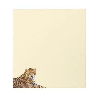 Spotted Jaguar Big Cat-lover #Gift Note Pad