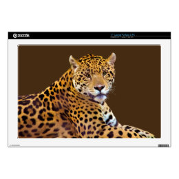 Spotted Jaguar Big Cat-lover #Gift Skins For Laptops