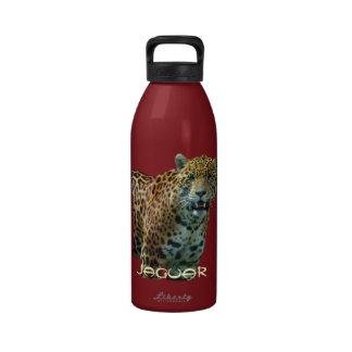 Spotted Jaguar Big Cat Wildlife Water Bottle