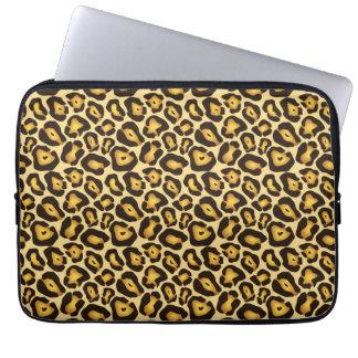 Spotted Jaguar Camouflage Pattern Laptop Sleeve