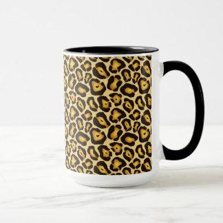 Spotted Jaguar Camouflage Pattern Mug
