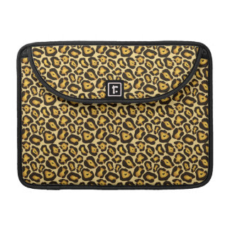 Spotted Jaguar Camouflage Pattern Sleeve For MacBook Pro