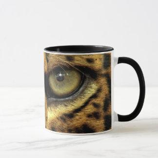 Spotted Jaguar Eye Big Cat Wildlife Mug