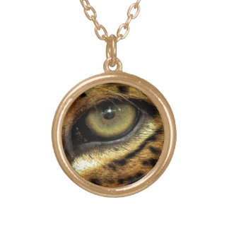 Spotted Jaguar Eye Big Cat Wildlife Pendant