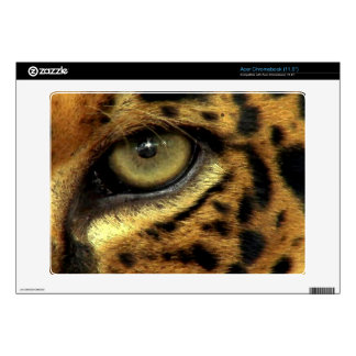 Spotted Jaguar Eye Wildlife Laptop Skin