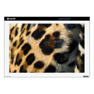 """Spotted Jaguar Fur Big Cat Wildlife Decal Skin For 17"""" Laptop"""