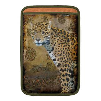 Spotted Jaguar & Mayan Temple Big Cat MacBook Air Sleeves