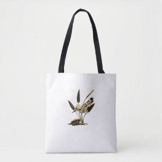 Spotted Kingfisher Tote Bag