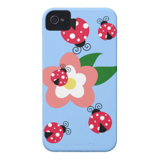 Spotted Ladybug iPhone 4 Case-Mate Case