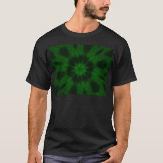 Spotted Leopard Green Kaleidoscope T-Shirt