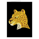 Spotted Leopard Greeting Card
