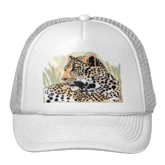 spotted leopard hats
