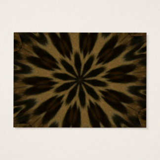 Spotted Leopard Kaleidoscope Business Card