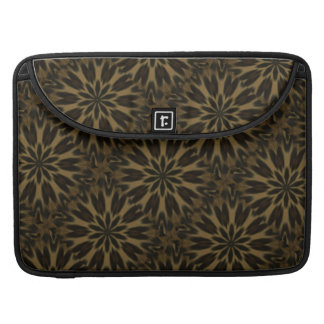 Spotted Leopard Kaleidoscope Sleeves For MacBooks