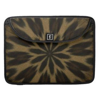 Spotted Leopard Kaleidoscope MacBook Pro Sleeves