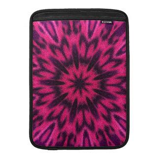 Spotted Leopard Pink Kaleidoscope MacBook Sleeves