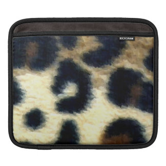 Spotted Leopard Print Sleeves For iPads