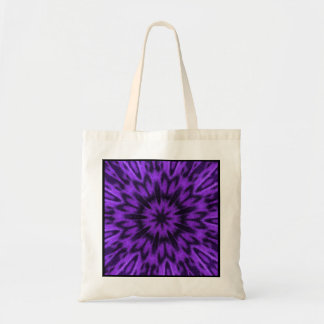 Spotted Leopard Purple Mandala Party Favor Gift Budget Tote Bag