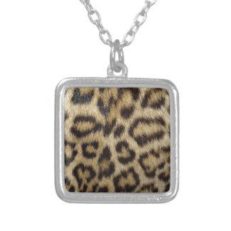 Spotted Leopard Skin Pendant