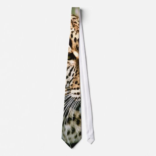Spotted Leopard Tie