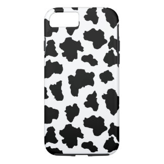 Spotted Moo Cow Dutch Holstein Animal Spots iPhone 8/7 Case