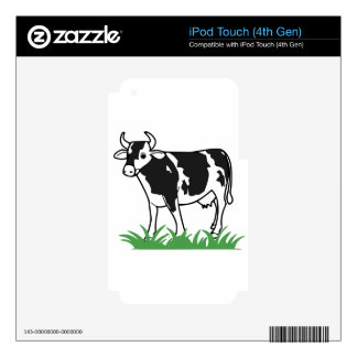 Spotted Moo Cow iPod Touch 4G Skin