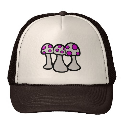 Spotted Mushroom Trucker Hats