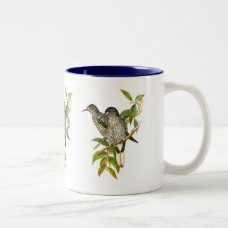 Spotted Nutcracker Two-Tone Coffee Mug