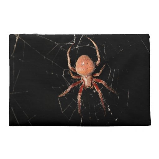 Spotted Orb Weaver Spider Travel Accessories Bags