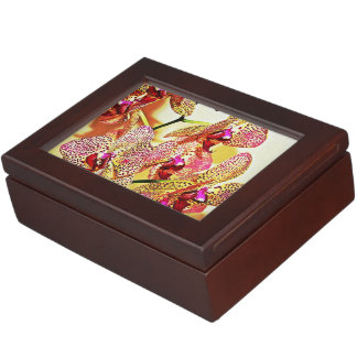 Spotted Orchid Keepsake Box