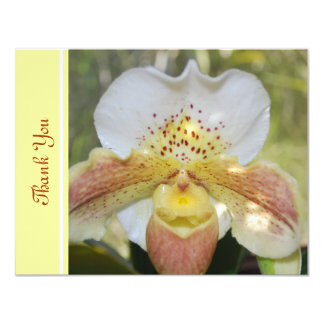 Spotted Orchid Thank You Card