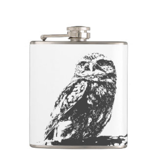 Spotted Owl Flask