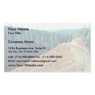Spotted Owl Habitat Clear-cutting Business Card
