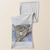 Spotted owl scarf