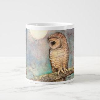 Spotted Owl Wildlife Art Giant Coffee Mug