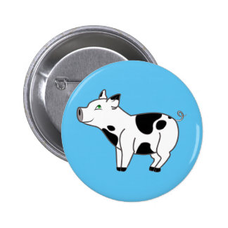 Spotted Pig Button