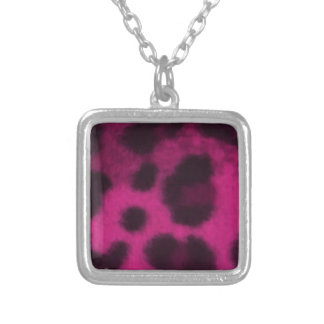 Spotted Pink Leopard Custom Necklace