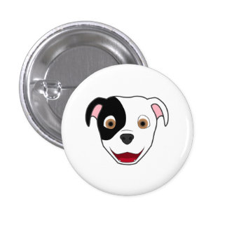 Spotted Pitbull Button