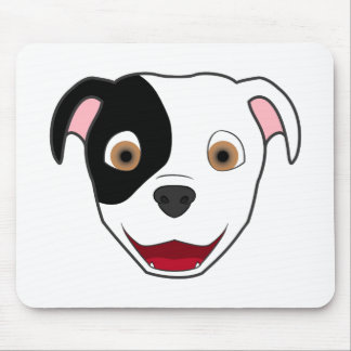 Spotted Pitbull Mouse Pad