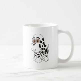 Spotted Puppy Dog Coffee Mug